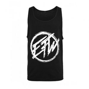 EFW Round Logo Tank Black